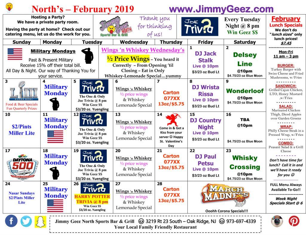 North-Feb-2019