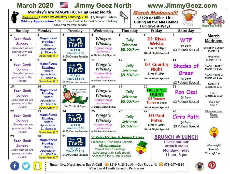 North Geez March 2020