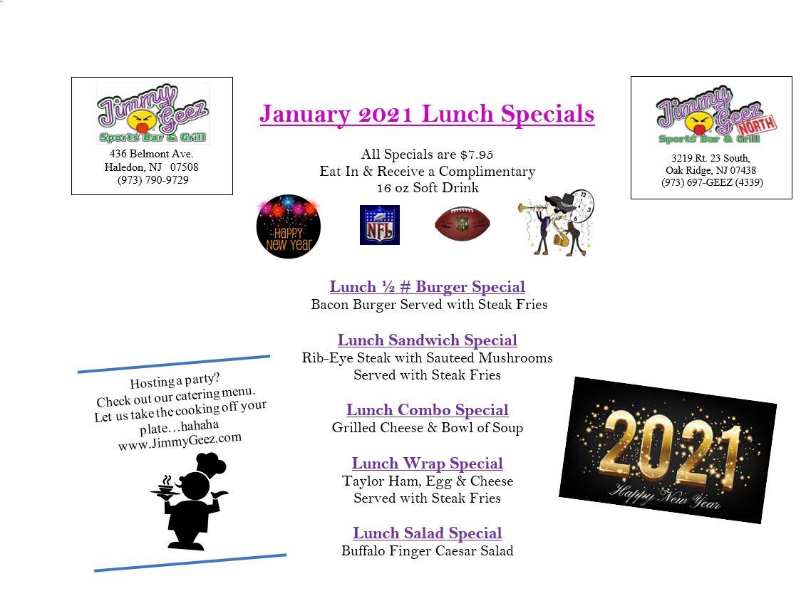 lunch jan2021